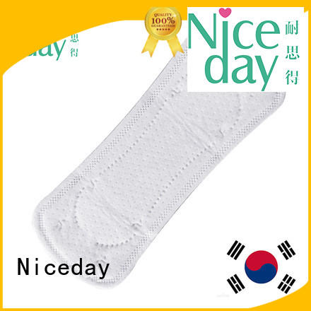 Niceday label female hygiene products fair for period