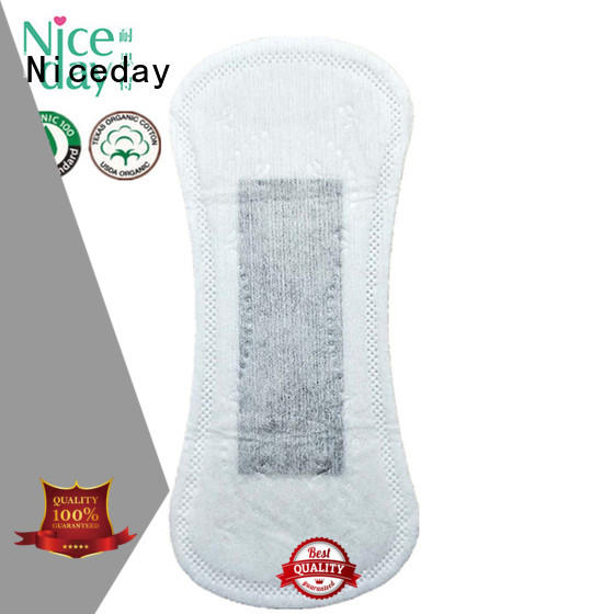 Niceday oem ultra thin sanitary napkin tea for period