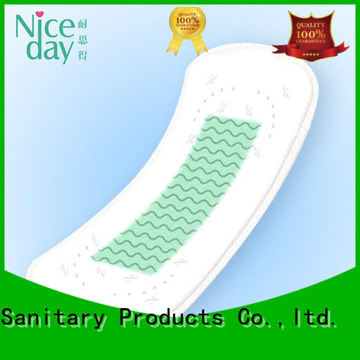 Carefree soft touch and high quality sanitary napkin super wings sanitary towels customized woman health pad NDWJ-1-Niceday