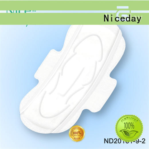 Niceday breathable cotton sanitary pads size for feminine