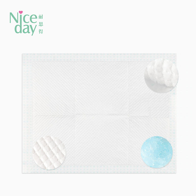 underpad disposable blue pads underpad for baby Niceday-1