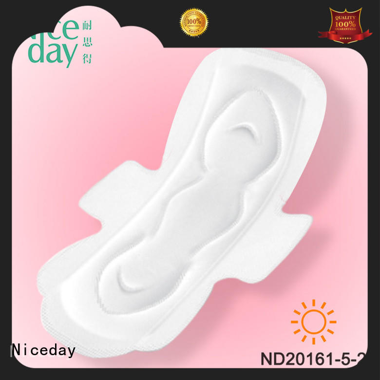 Niceday quality sani pads label for women
