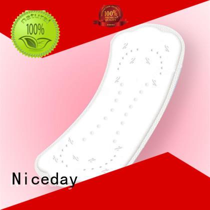 Niceday purple female pads fiber for girls
