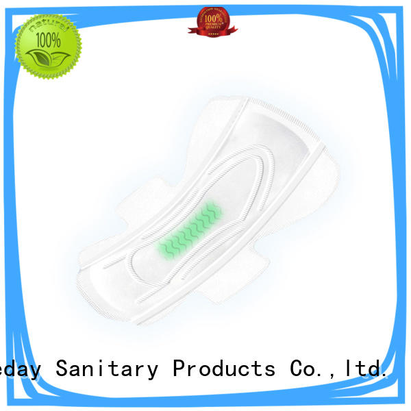 Niceday low organic menstrual pads winged for female