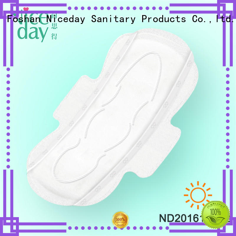 Niceday winged women's sanitary pads export for girls