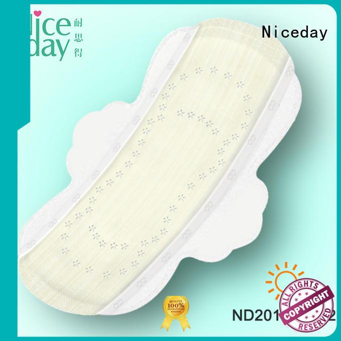 Niceday comfortable cotton sanitary pads organic for female