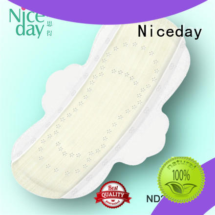 Good quality bamboo fiber surface without chip surper absorbtion sanitary napkin ND20161-25-Niceday