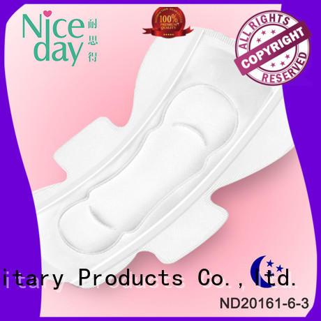 Niceday purple women napkin dry for female