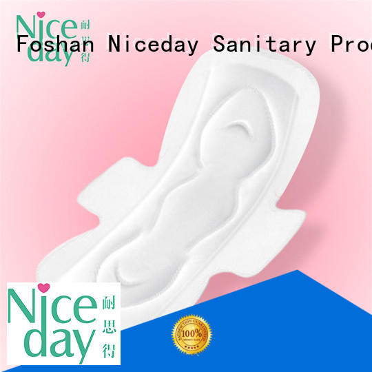 Niceday woven female hygiene products liner for ladies