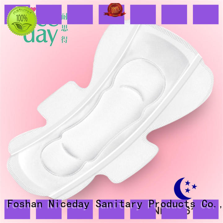 Niceday color cheap sanitary pads pulp for period
