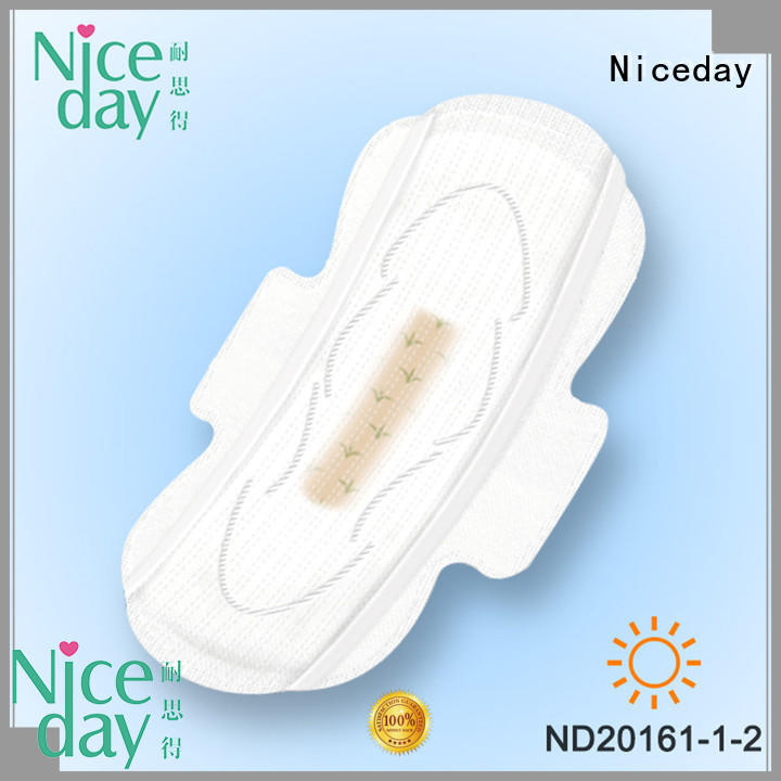 Niceday purple menstrual pads healthy for feminine