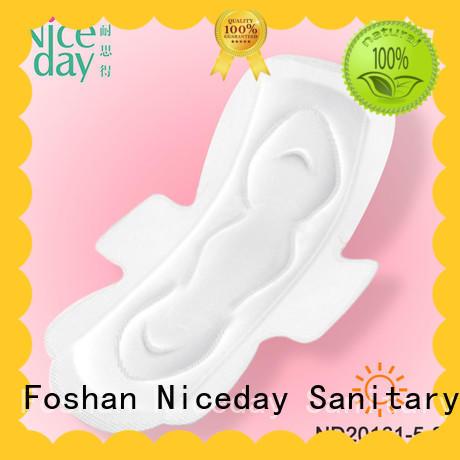 Niceday luxury menstrual pads woven for girls