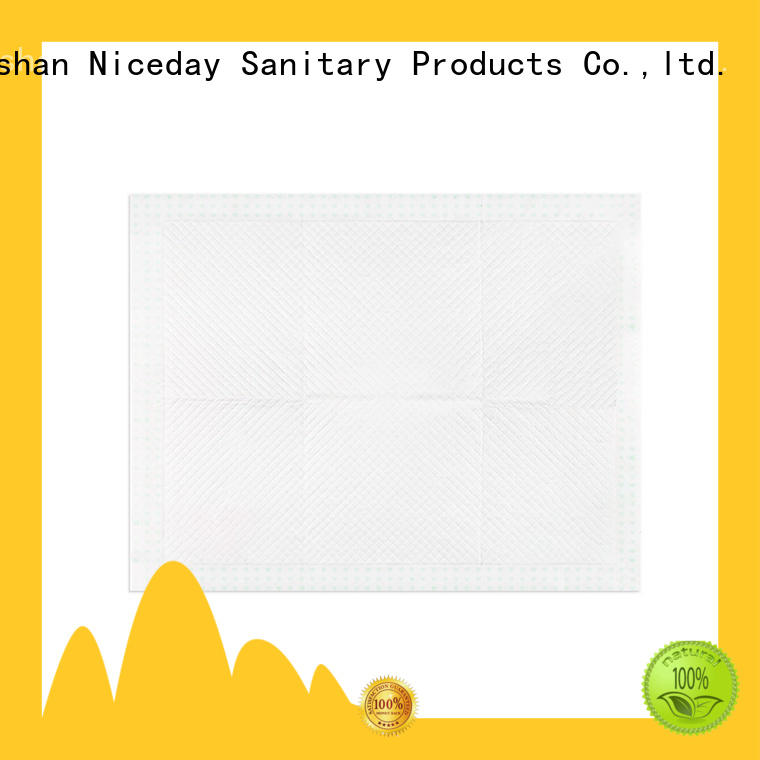 Niceday blue disposable underpads 23x36 inquire for adult