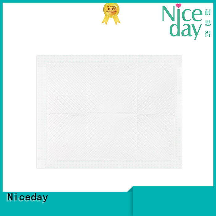 medical disposable bed pads blue for adult Niceday
