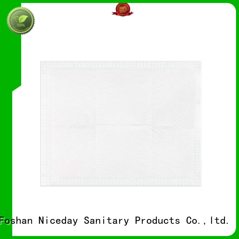 Niceday absorbent bed wetting pads underpad for baby