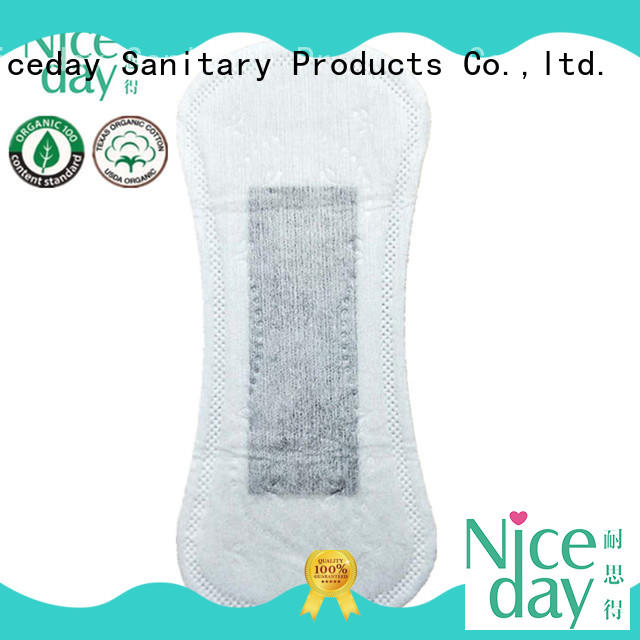 Niceday bulk ultra thin sanitary napkin fiber for ladies