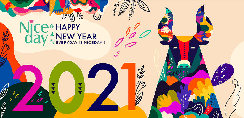 Chinese New Year 2021, Every day is Niceday!