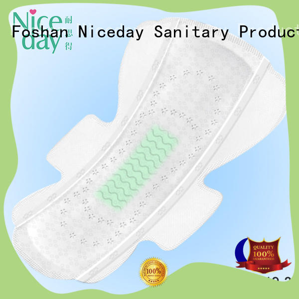 Extra care night use sanitary napkin pad super absorbency sanitary napkin with negative ion ND20161-19-3-Niceday