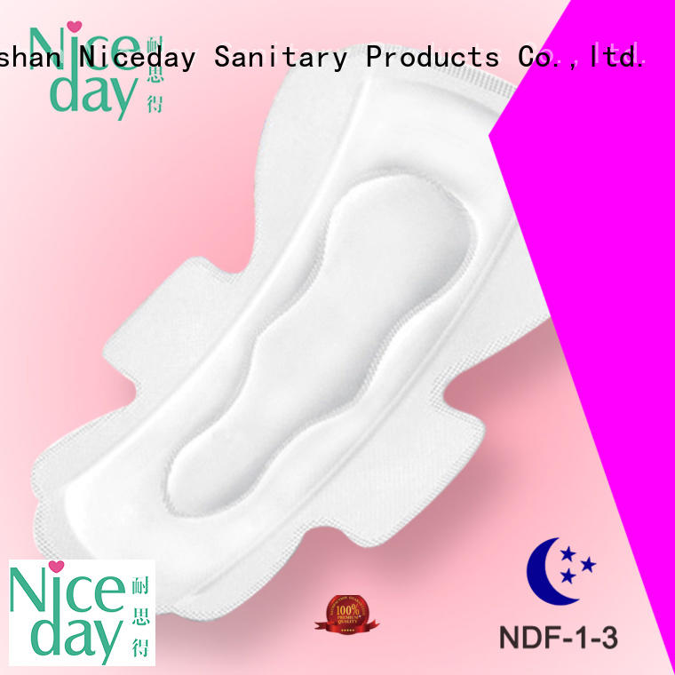 Niceday softcare cotton sanitary pads side for feminine