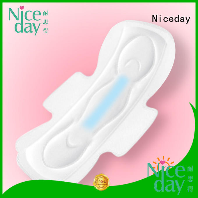 Niceday woven cheap sanitary pads pure for female