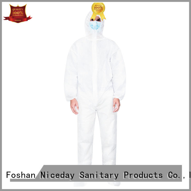 lightweight disposable coveralls manufacturer for hospital