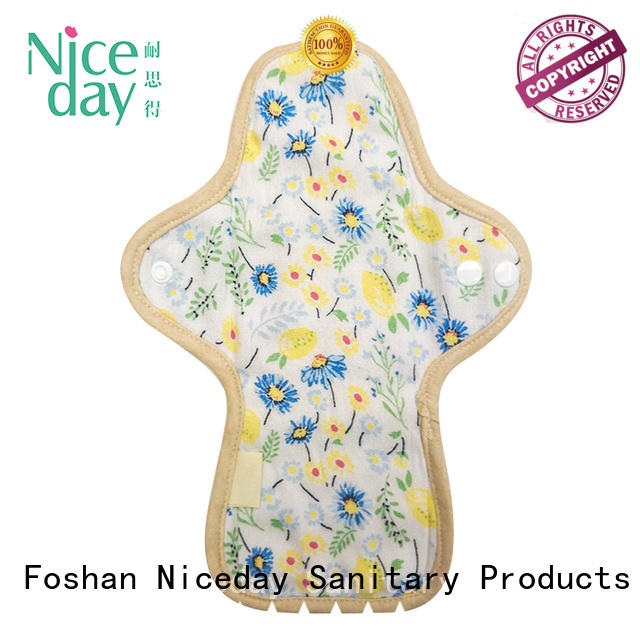 Niceday name reusable feminine pads quality for girl