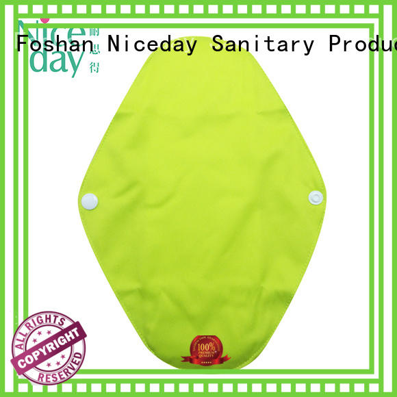 Niceday menstrual cotton menstrual pads bamboo