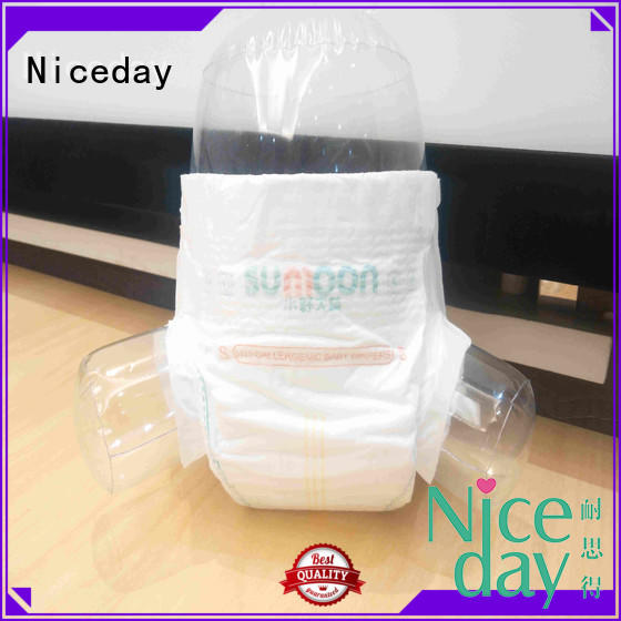 Niceday biodegradable low cost sanitary napkins for baby