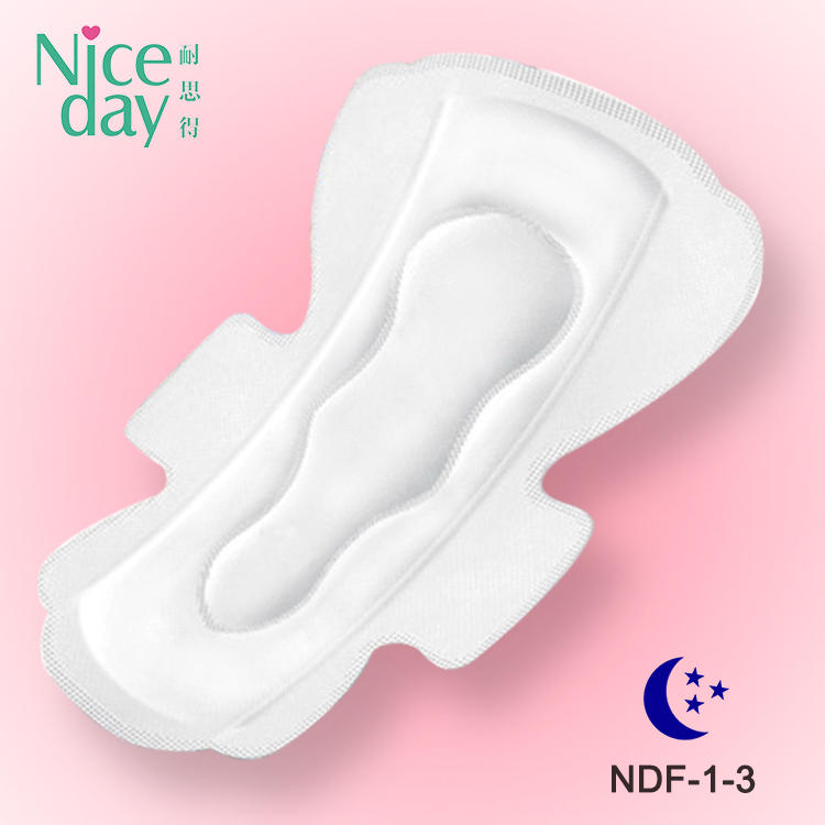Super high absorbency and Super Care Sanitary Napkin girls period picture brand name sanitary napkin underwear women's panties NDF-1-3-Niceday-1