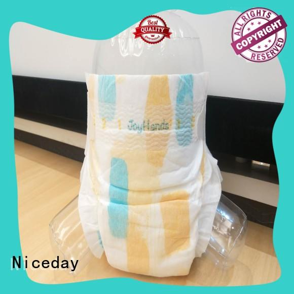 Niceday leak-proof best baby diapers material for baby boy