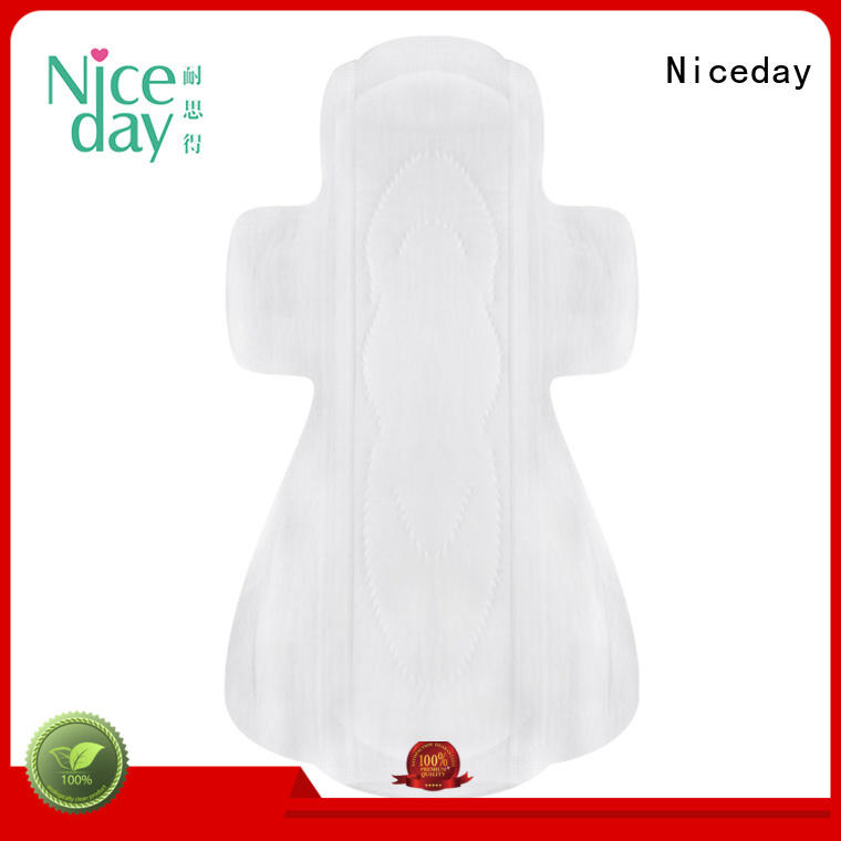 Niceday daytime female hygiene products winged for feminine