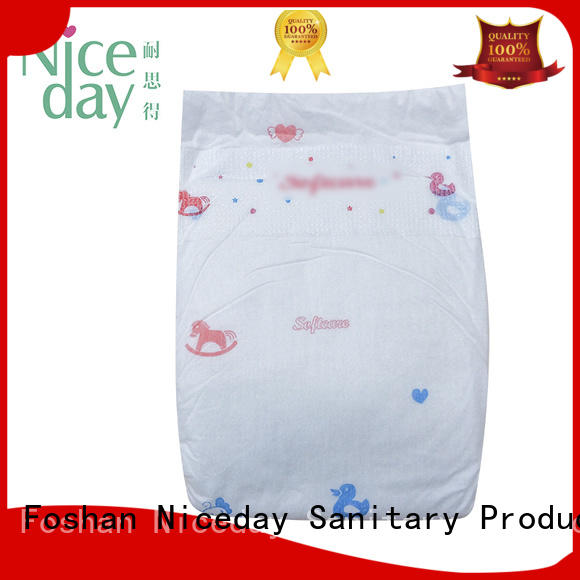 Niceday brand best baby diapers soft for baby girl