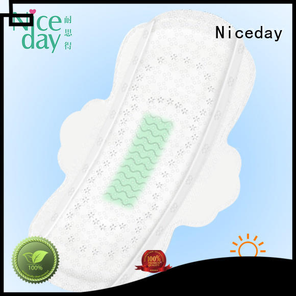 Niceday quality cheap sanitary towels wings for period