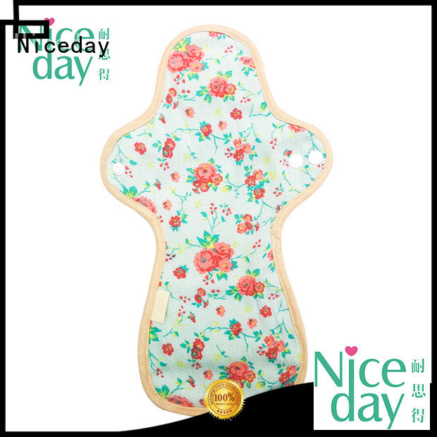 Niceday name waterproof sanitary pads colorful