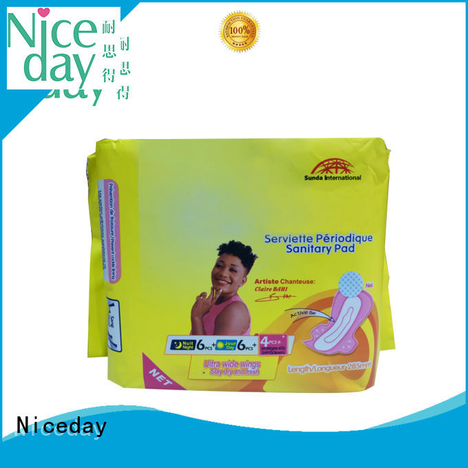 herb thick sanitary pads absorption period Niceday