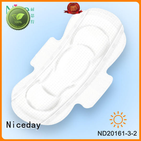 healthy and care female sanitary pad Perforated Non Woven plus sanitary napkin raw material plus size womens panties ND20161-3-2-Niceday