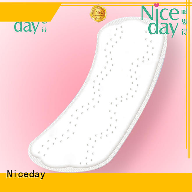 Niceday purple best menstrual pads stereoscopic for ladies
