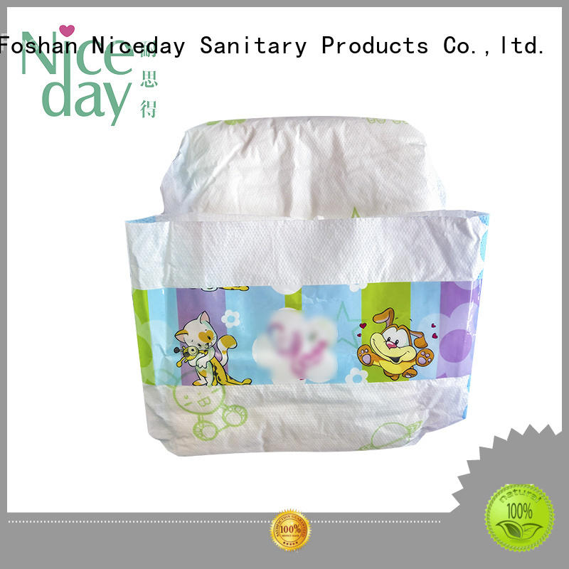 Niceday smart free baby diapers accept for baby