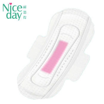 Amazing graphene chip sanitary napkin with high absorbent dry surface soft care female pads