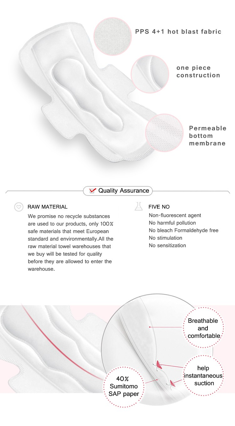 Niceday woman female hygiene pads manufacturers for female-2
