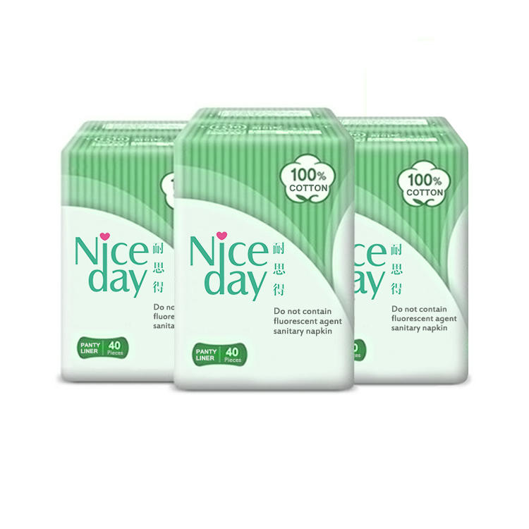 Free samples cheap susan icy feeling herbal panty liner super soft aloe sanitary napkins high quality panty liners in vietnam NDDC20191-1-1-Niceday