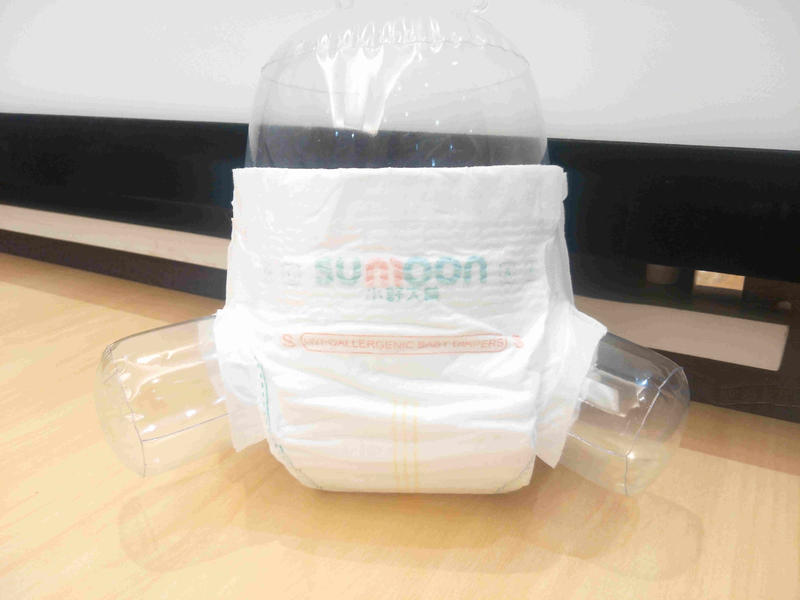 Wholesale disposable baby diaper in factory price Super soft cotton diapers NDBD-3-Niceday