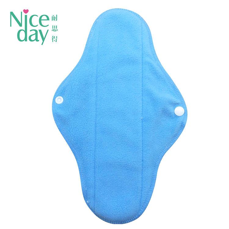 Colorful washable women pad good quality reusable sanitary pads with low price NDRU-1-4 C-Niceday