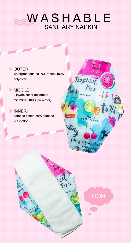 Niceday reusable reusable menstrual pads brand for ladies-3