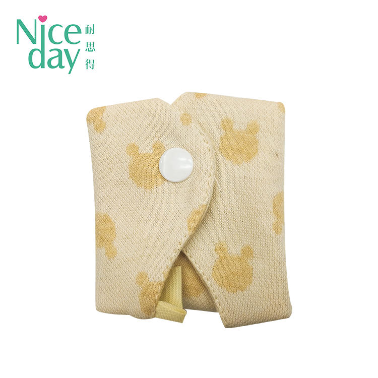 Lovely girl mini reusable sanitary pads washable panty liner manufacturer NDRU-2-1-Niceday