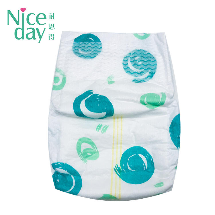Gentle on newborn skin‎ diapers disposable baby diaper manufacturer NDBDM-1-Niceday