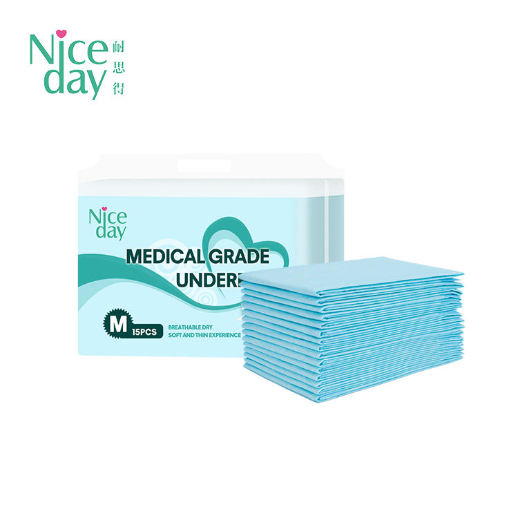 Soft care underpad for bed good absorbency disposable bed pads NDANM-1-Niceday