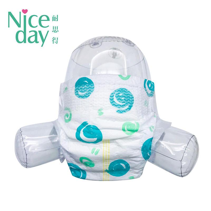 Gentle on newborn skin diapers disposable baby diaper manufacturer NDBDM-1-Niceday