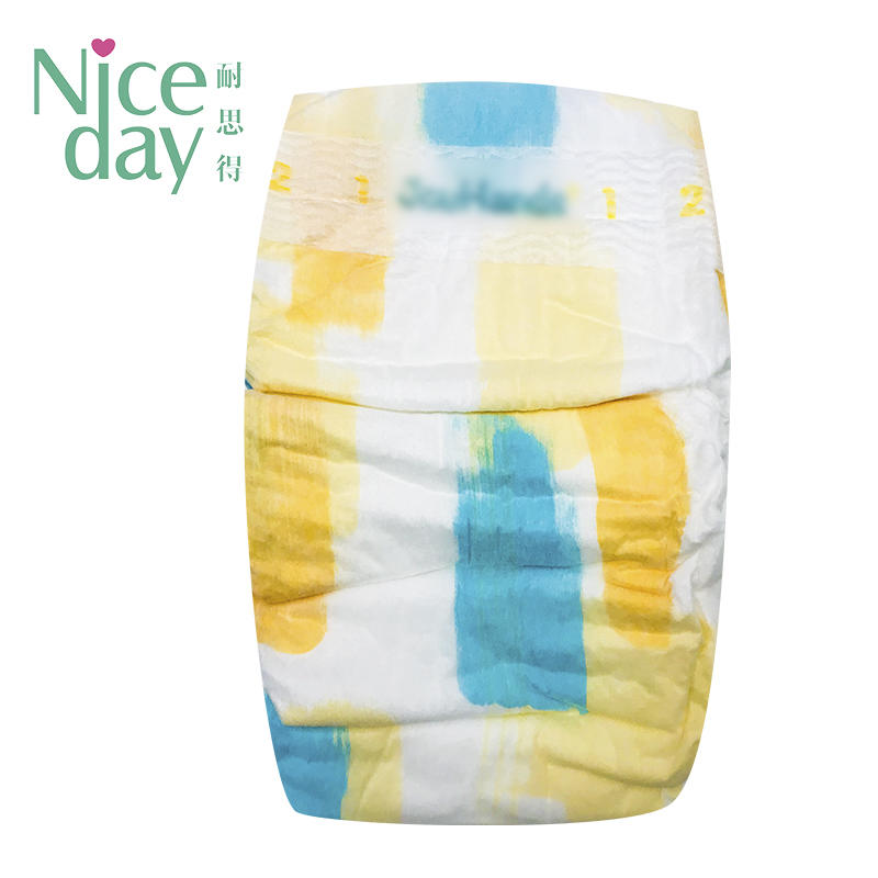 Organic baby diaper with Pure natural raw material baby diapers factory NDBDM-2-Niceday