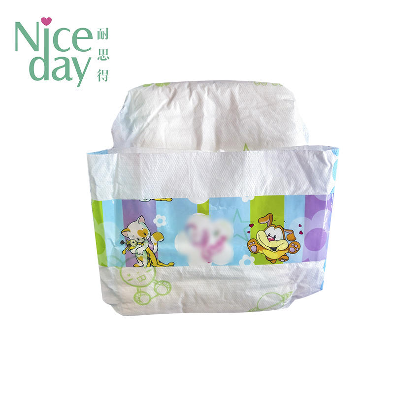 Natural  cotton baby diapers disposable diapers/nappies Manufacturers NDBDE-1-Niceday